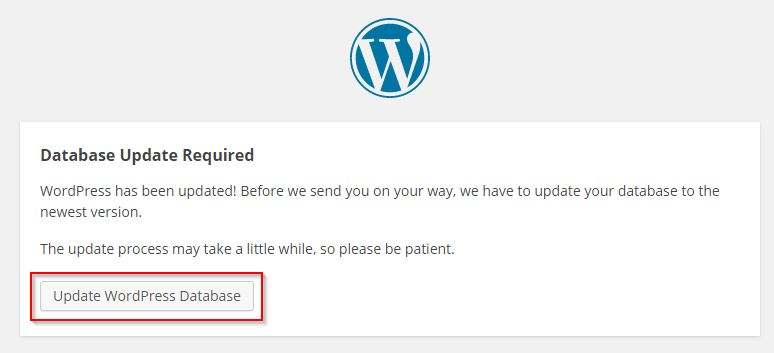 WordPress Database › Update