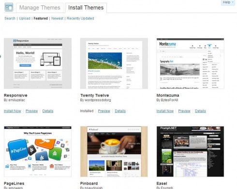 Featured WordPress Themes