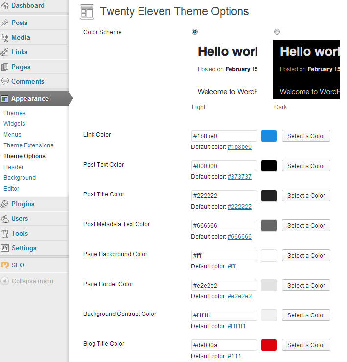 7 Tips to Customize WordPress Twenty Eleven Theme