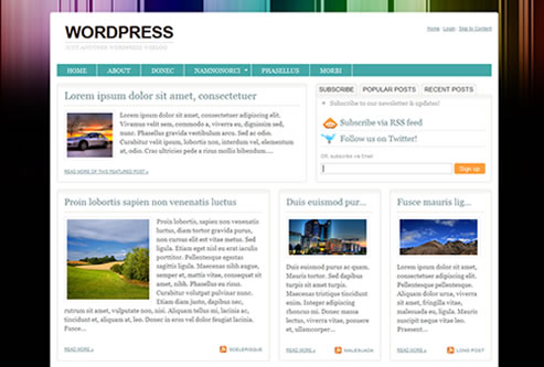 WordPress Urbane Theme